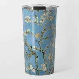 1890-Vincent van Gogh-Almond blossom-73.5x92 Travel Mug