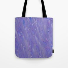 Lavender Brush Strokes Tote Bag