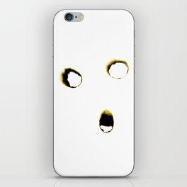 Everything will burn-Self Portrait iPhone Skin