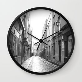 Old Streets Wall Clock