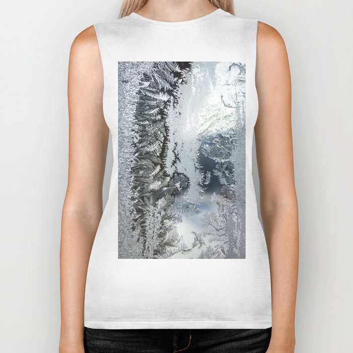 Frosty window Biker Tank