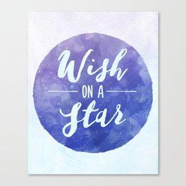 Wish on a star! Canvas Print