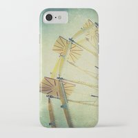 glee iPhone & iPod Cases featuring Ferris Wheel by Honey Malek