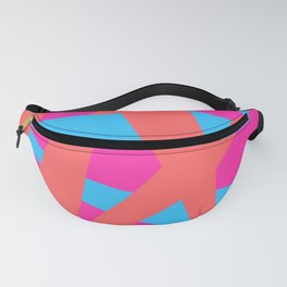 Geometric abstract Fanny Pack