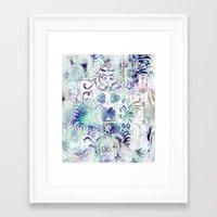 fairy tail Framed Art Prints featuring Fairy Tail by Marta Olga Klara