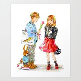 Pop Kids vol.15 Art Print