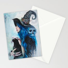 Blue Valentine Stationery Cards