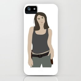 Maggie Greene (The Walking Dead) iPhone Case