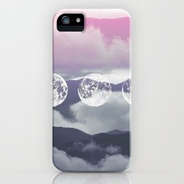 Pink Moontime iPhone Case