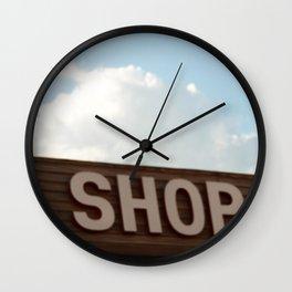 Shop Wall Clock