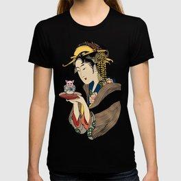 Tea Time with Pig T-shirt