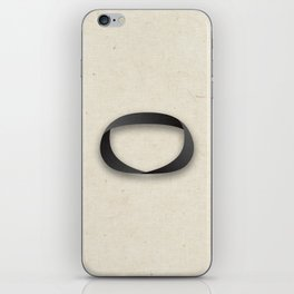Möbius strip iPhone Skin