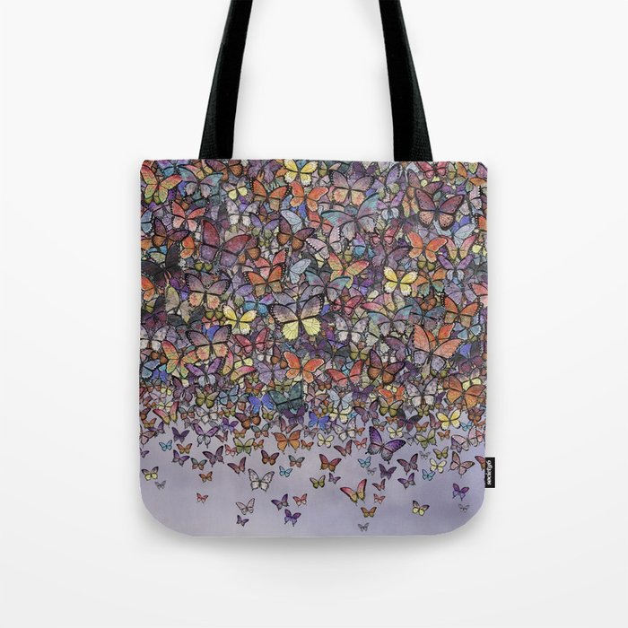 butterfly cascade Tote Bag