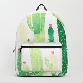 Green Cactus Backpack