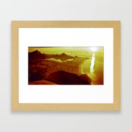 Good Morning Rio Framed Art Print