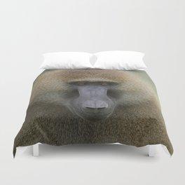 Guinea Baboon Duvet Cover
