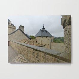 Chateau de Malbrouck Metal Print