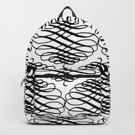 Curly Pattern 08 Backpack