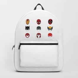 Superhero Masks 3 Backpack