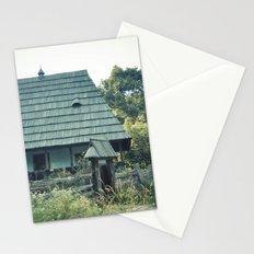 House in the mountains Stationery Cards