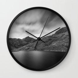 Snowdon past Llyn Llydaw Wall Clock