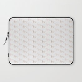 Crazy Dachshund Lady Laptop Sleeve
