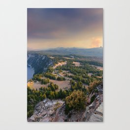 From the Watchman Canvas Print