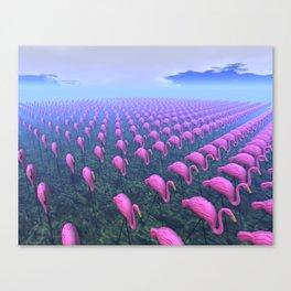 Plastic Invasion Canvas Print