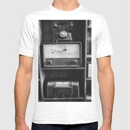 Retro Stand (Black and White) T-shirt