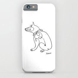 Pablo Picasso Dog Artwork, Animals Line Sketch, Tshirts, Prints, Posters, Bags, Men, Women, Kids iPhone Case