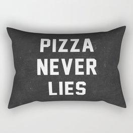 Pizza Never Lies Rectangular Pillow