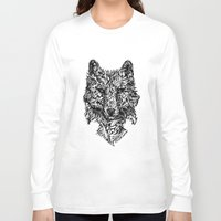 hunter Long Sleeve T-shirts featuring Hunter by René Campbell