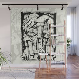 Drained Wall Mural