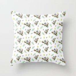 Koala Pattern #3 Throw Pillow