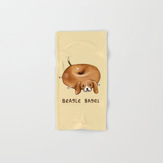 Beagle Bagel Hand & Bath Towel