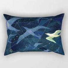 The Wanderers (detail) Rectangular Pillow
