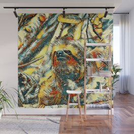 AnimalArt_Sloth_20171201_by_JAMColorsSpecial Wall Mural