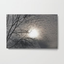 Clouds Dissolve  Metal Print