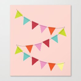 Hooray for girls! Canvas Print