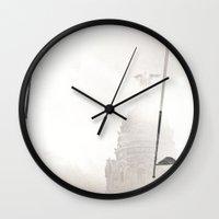 metropolis Wall Clocks featuring Metropolis by JavierPineroFoto