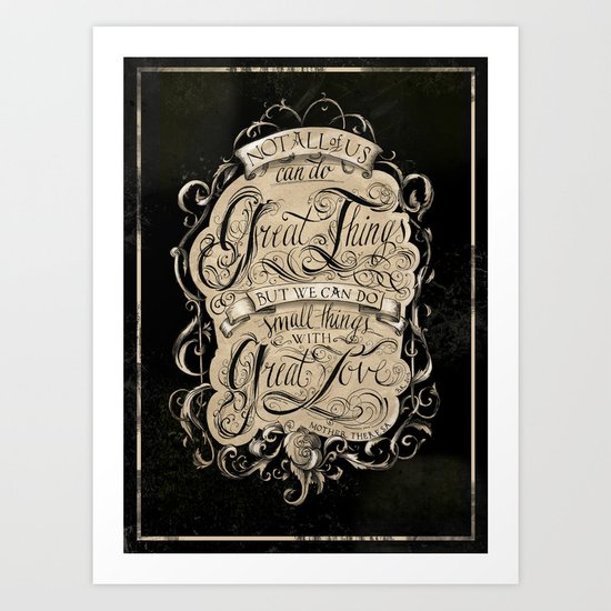 Great Love Art Print