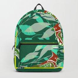Green Bird lovers ecopop Backpack