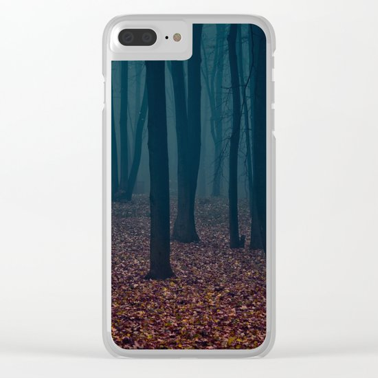 WITCHES FOREST Clear iPhone Case