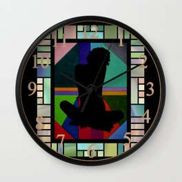 World Sit-In Wall Clock