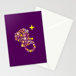 CANDYRING GIRL Stationery Cards