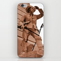 battlefield iPhone & iPod Skins featuring Battlefield by Photaugraffiti
