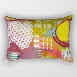 Jellyfish Garden Rectangular Pillow