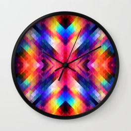 PSYCHO GEOMETRY Wall Clock
