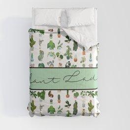 Plant Lady Confetti  Comforters