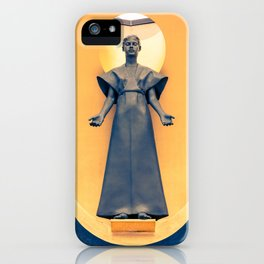 Our Lady of the Angels iPhone Case